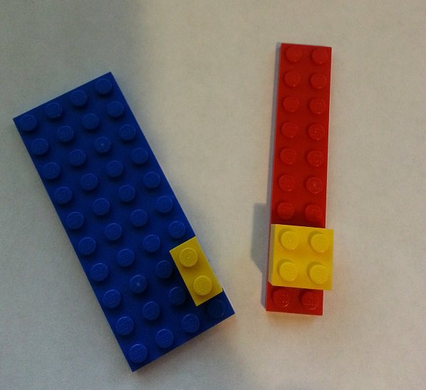 Bayes' theorem explained with LEGO bricks