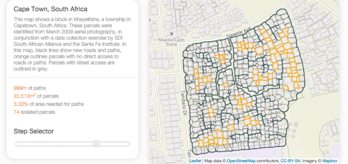 Maps + algorithms to bring infrastructure and services to urban slums worldwide