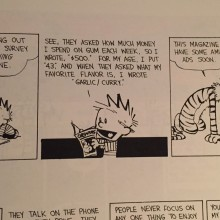 Calvin and Hobbes Love Messing with Big Data
